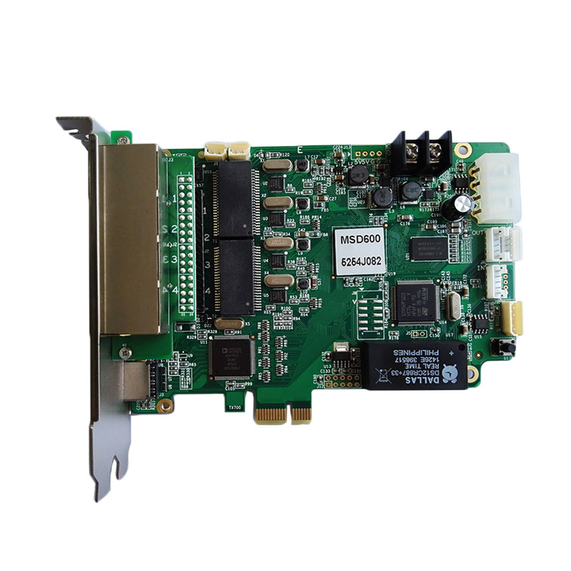 Novastar MSD600 full color led control sending card in led video processor for transparent led display <strong>screen</strong>