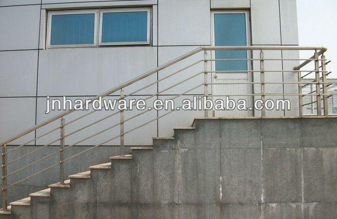 exterior de acero inoxidable barandilla de de acero inoxidable barandilla para escaleras