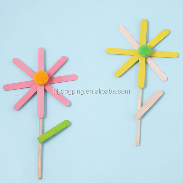 Made In China Diy Ice Cream Stick Art And Craft Wood Stick