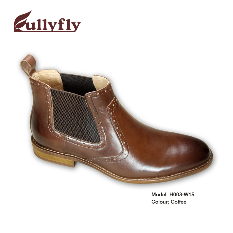 boots men's handmade Leather shoes men boots vdqwxO