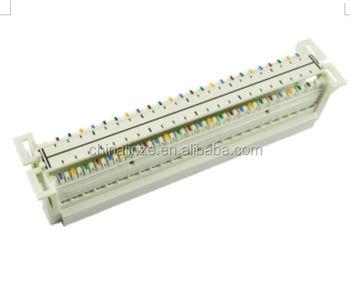 new 50 pairs 110 wiring block terminal block with plastic material rh alibaba com 110 Phone Block 110 Block Diagram