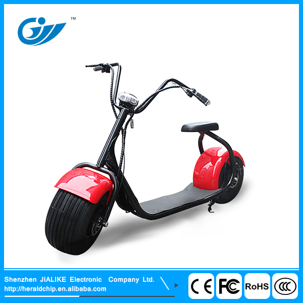 Hot sale Harley01 fat tire electric motor scooter with CE charger