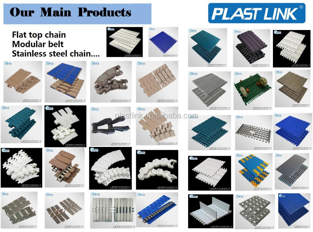 Plastic Link 4809 food grade mesh belt