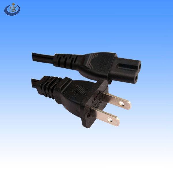 Ul Cas Approval 6 Foot American Spt-2 18awg*2c 2 Pin Polarized Plug ...