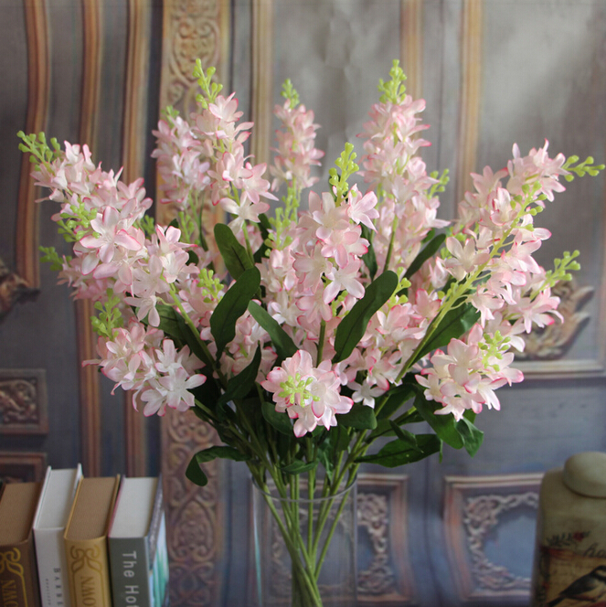 GNW Import China Silk Flowers With Wholesale Artificial Delphinium Tree Branch For Wedding Table Centerpiece Decoration