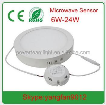 best service 2b86e e2ecc Led Microwave Sensor Panel Light Ceiling Light Led Microwave Sensor  Downlight - Buy Microwave Sensor Panel Light,Microwave Motion Sensor Light  Led ...