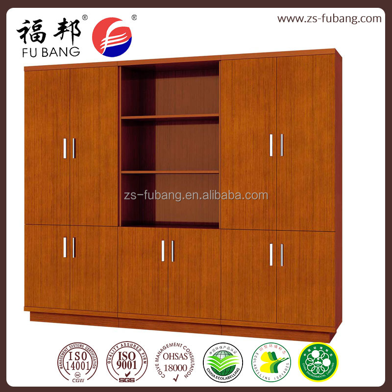 MDF classic office workshop home hotel modern display furniture filling cabinet wood