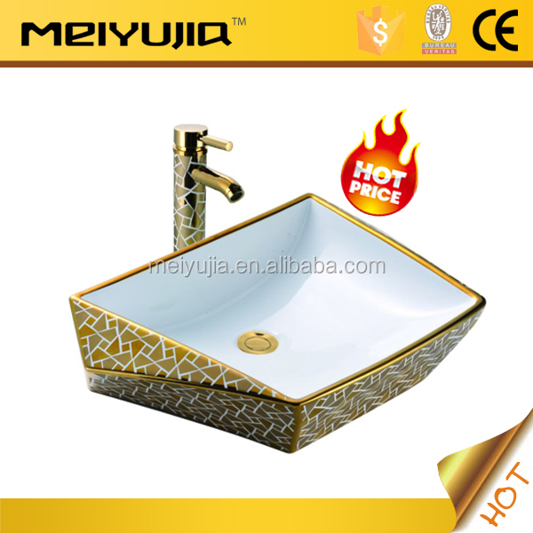 Hot sale single hole ceramic sanitary ware art basin