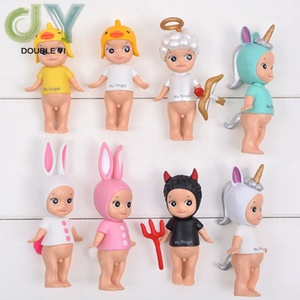 New Angel Dolls Birthday Cake Decorations Party Dessert Table Decoration 8 Styles Party Supplies