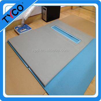 Gemakkelijk Maken Witte Blauwe Tegels Platen Badkamer Muur Frame ...