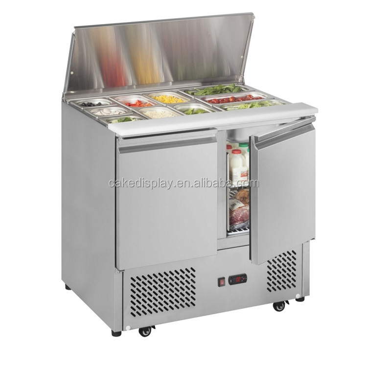 2018 New Model Commercial Salad Topping Bar Refrigerator