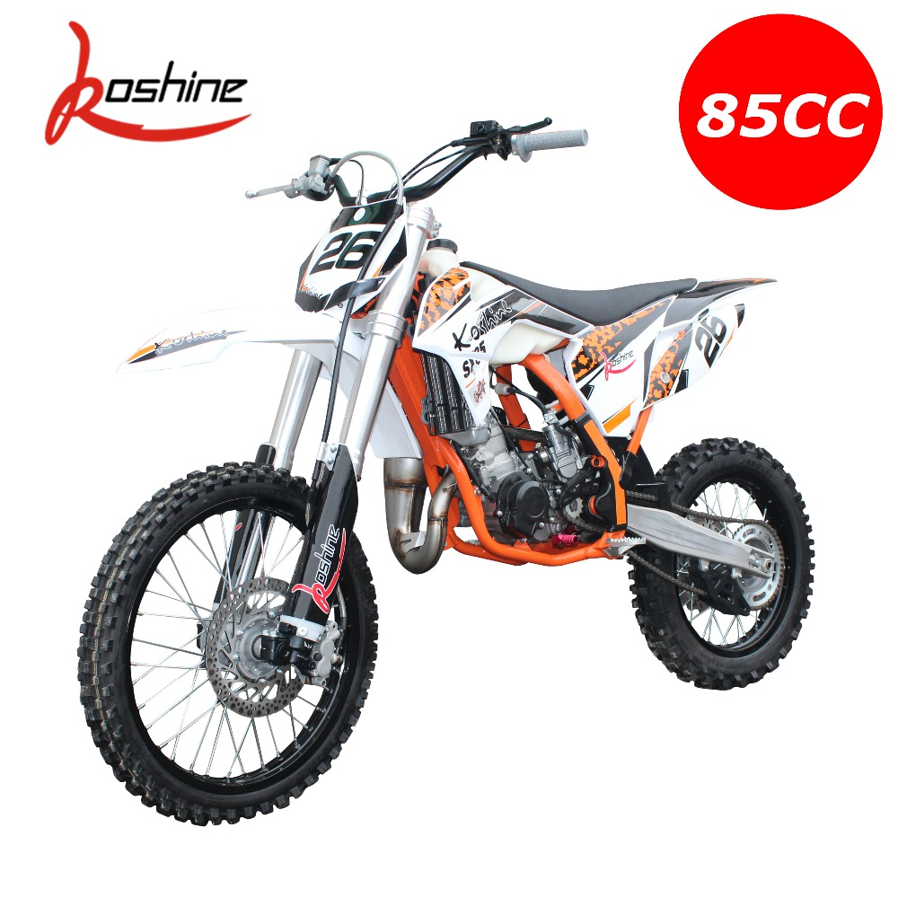 High Quality Koshine Motor 85cc 2 Stroke Water Cooled Engine Dirt Bike 19  Inch Xn85 - Buy Dirt Bike,85cc Dirt Bike,2 Stroke Dirt Bike Product on