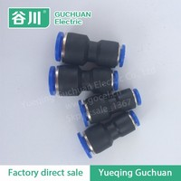 Yue Qing wholesale duplex fitting pisco plastic quick connect pneumatic fittings