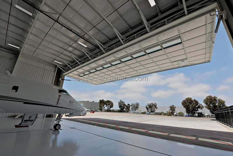 durable prefabricated airplane arch hangar