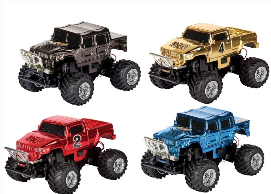 1:58 Hummer Cross-country RC Car Big Wheel Mini Toy Car Electric Toy with Remote Control RTR Gift