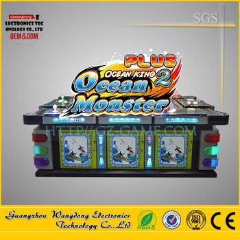 Ocean monster gambling fish table made in usa chinese for Fish table gambling