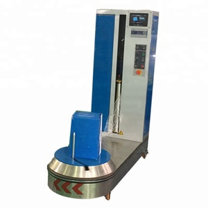 Airport luggage wrapping machine best selling products in america