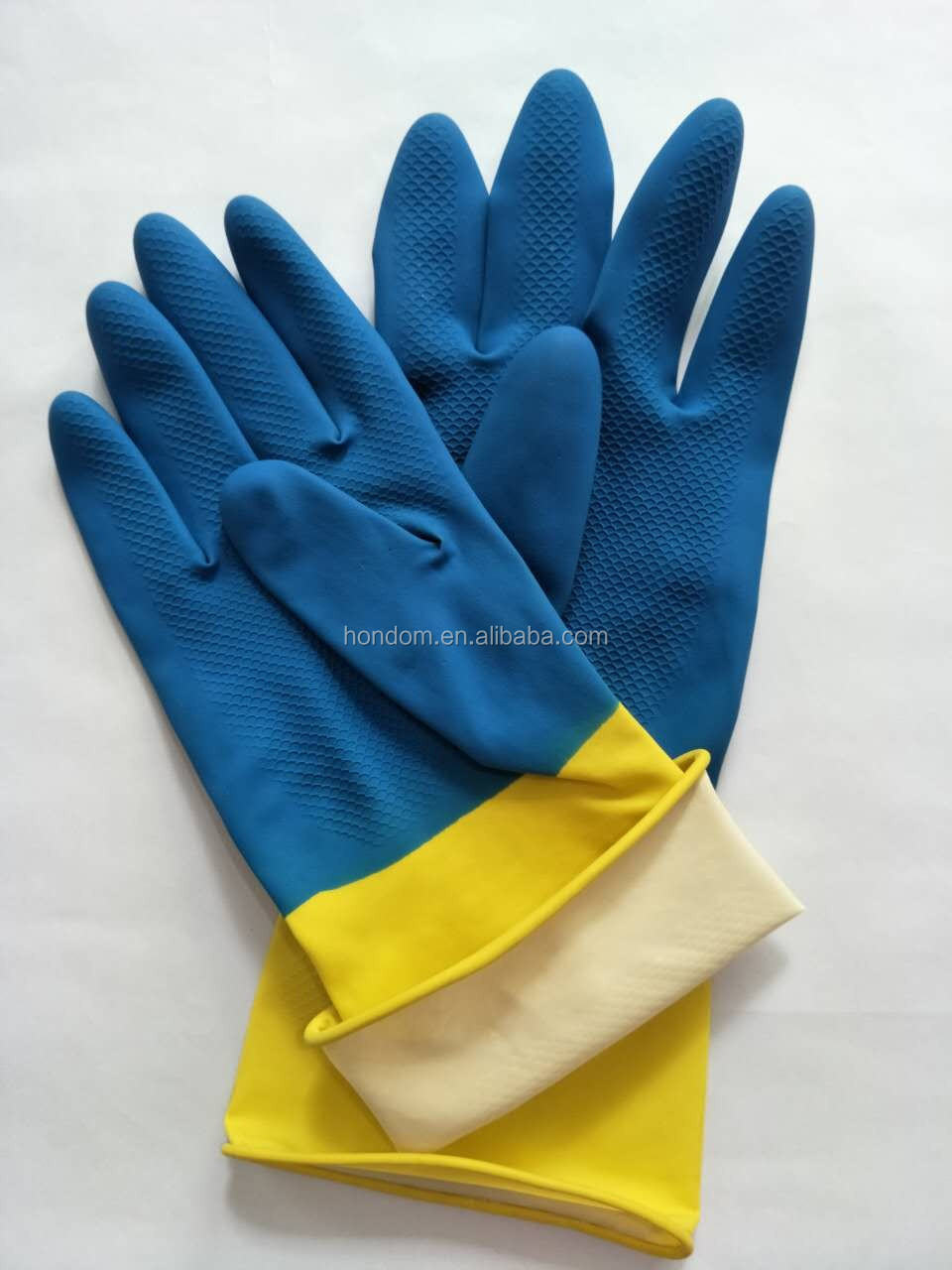Household Waterproof Long Sleeve Rubber Latex Gloves