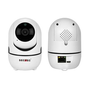 Sectec HD 1080P RJ45 Port Indoor IP Video Wireless Surveillance AI Motion Auto Tracking CCTV Camera