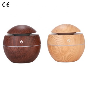 China Supplier 130ML Wood Home Aroma Air Humidifier Essential Oil Diffuser