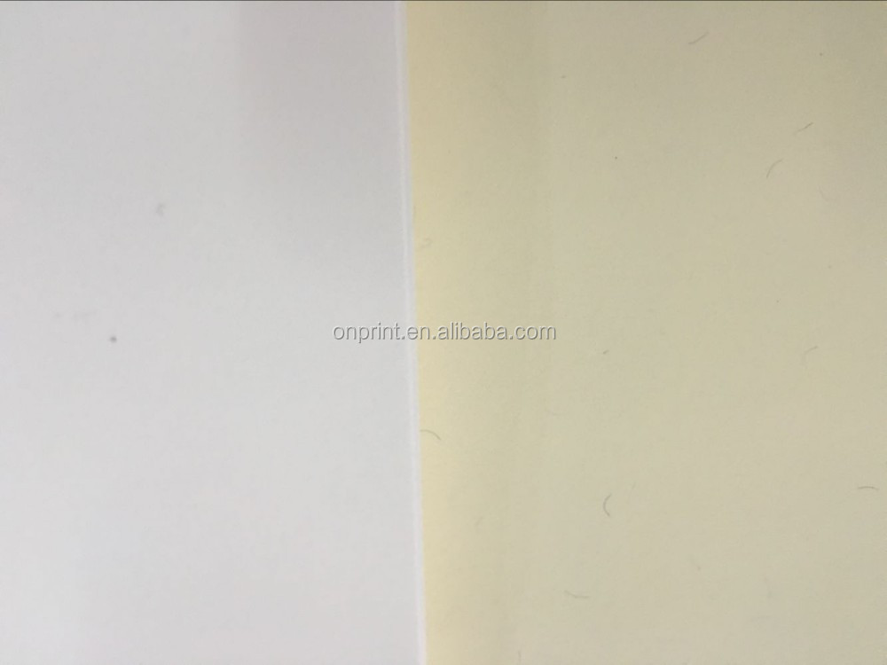 <>210*297 a4 paper white paper 90gsm 75% cotton 25% linen busienss paper with security thread