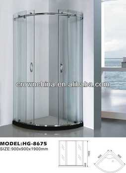Contemporary shower enclosure simple shower room soft tub - Soft tube whirlpool ...