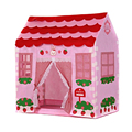 Playhouse Girl City House Kids Secret Garden Pink Play Tent Great Gift