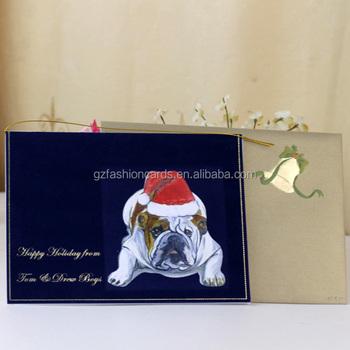 Azul Marino Simple Diseño Feliz Navidad Tarjetas De Invitación Con Inteligente Perro Buy Feliz Navidad Tarjetas De Invitación Simple Diseño Tarjetas
