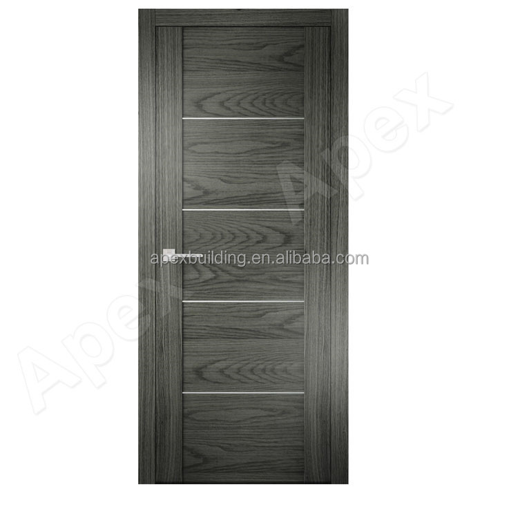 Mod le europ en porte style cendres bois de placage chasse for Placage bois porte interieure