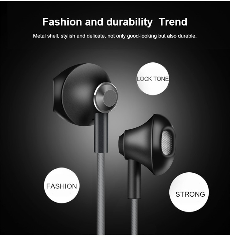 GlobalCrown Noise Cancelling Function and Mobile Phone Use Headphone Parts