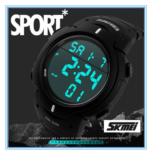outdoor sport men wrist watch skmei 1068 big face digital watches outdoor sport men wrist watch skmei 1068 big face digital watches water proof
