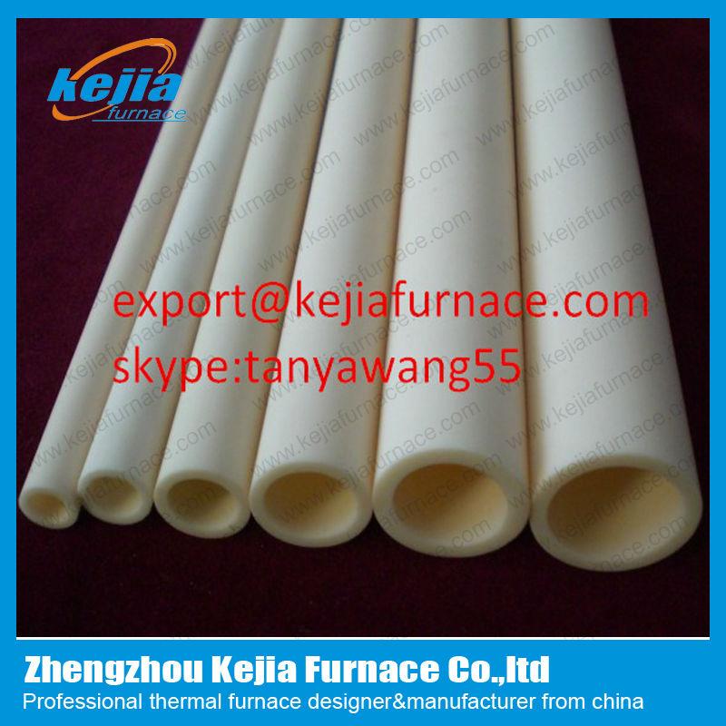 99.9% High Purity Alumina Ceramic Tube Used In Tube Furnace