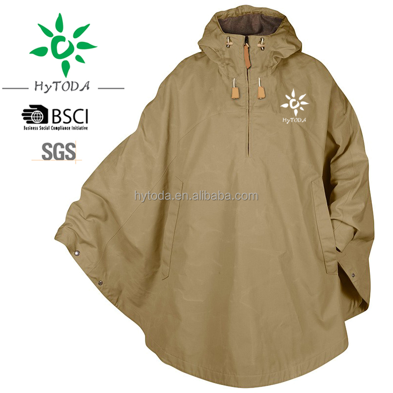 Windbreaker Outdoor Seam Sealed Rain Cape