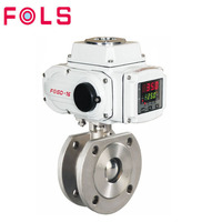 wholesale electric actuator Stainless Steel Segment Ball Valve Price