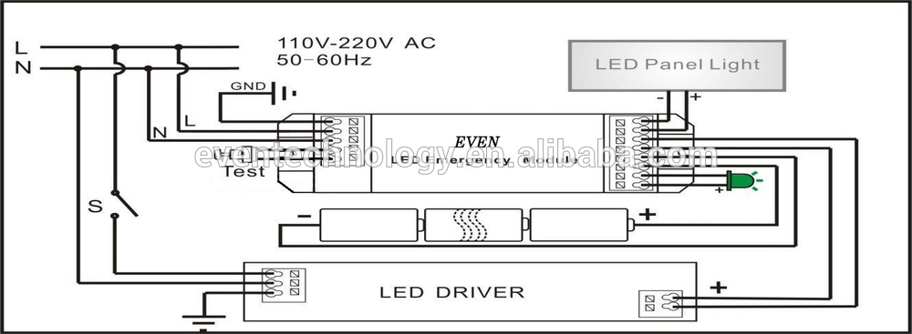 LED Battery Light Kit With Inverter 60242495689 on light ballast wiring diagrams 2