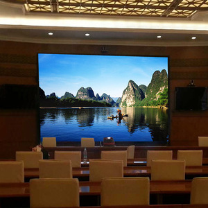 Indoor WIFI Remote Control Full Color P5 Meeting Room LED Display
