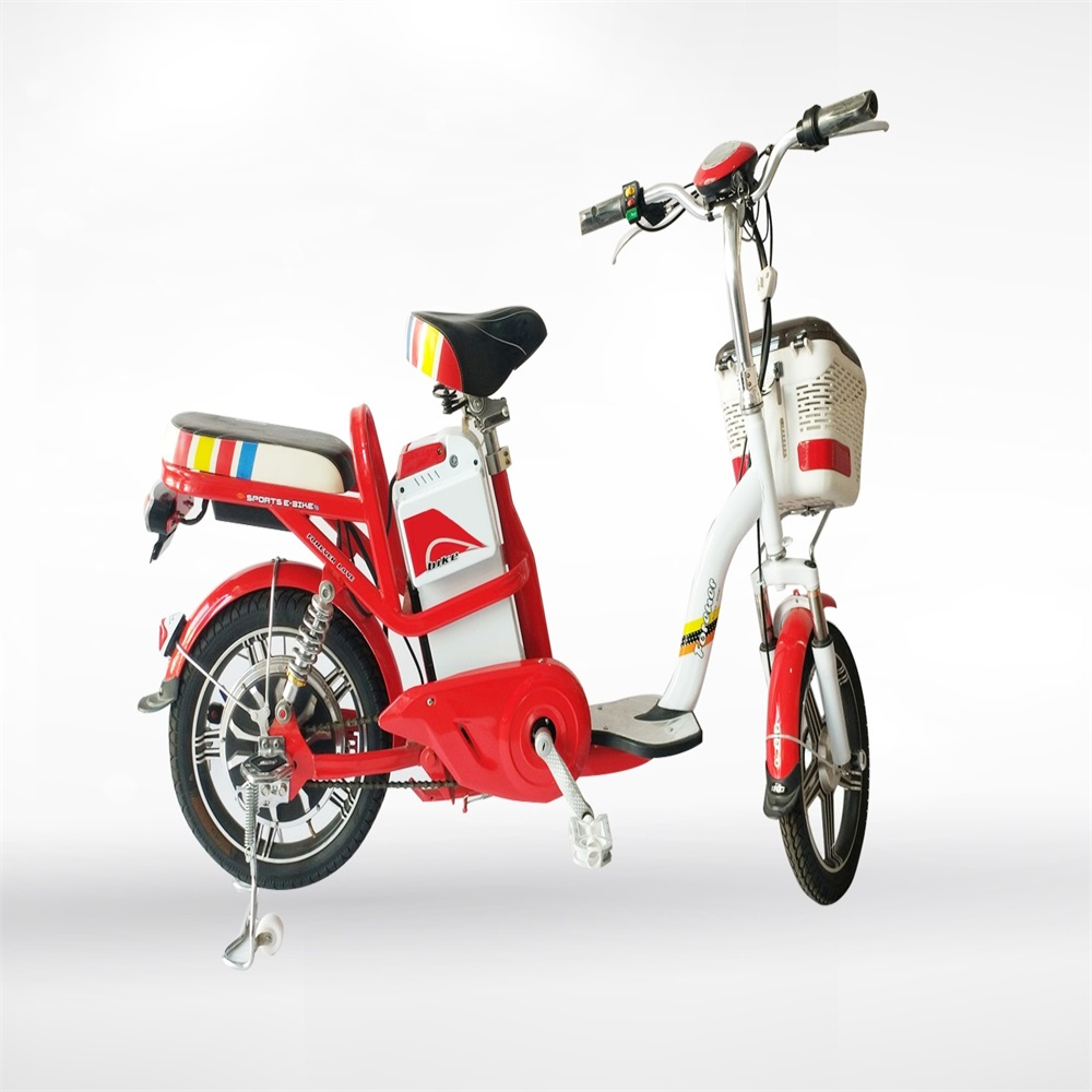 Fashionable electric city bike customized with many frame colors