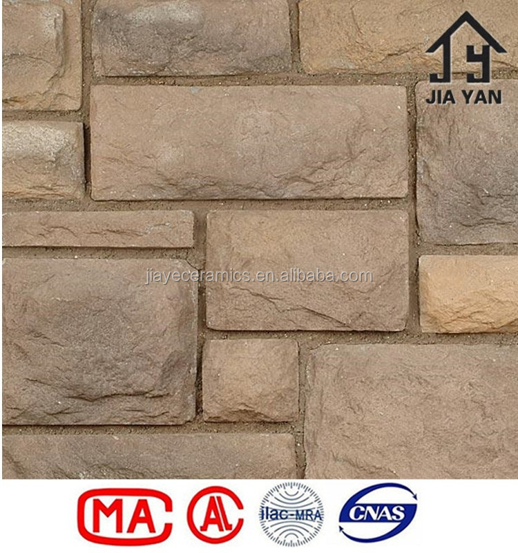 Artificial craft light weight concrete wall decorating stone