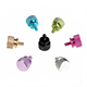 Customized multicolor anodized aluminum thumb screw