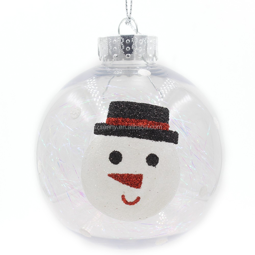 Diversified Popular Wholesale Clear Glass Christmas Ball ...