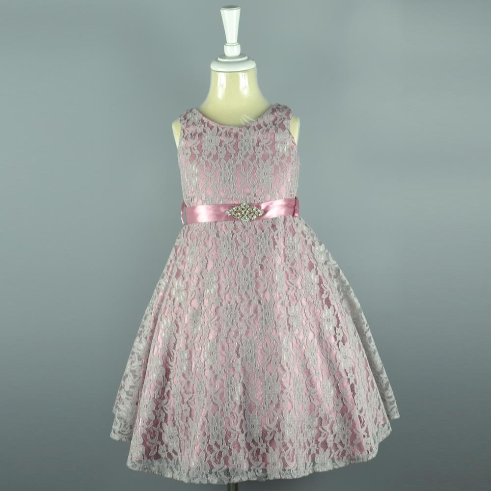 Lace American Style Children Party Dress Princess Party Wear Dresses ...
