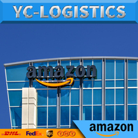 Amazon air shipping double custom clearance with tax to door special line from china to usa