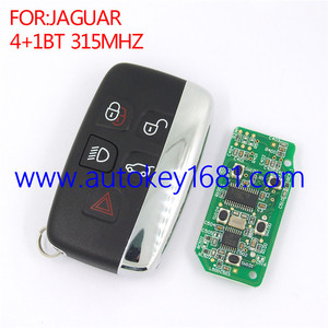 New Keyless Entry Smart Remote Key Fob 315Mhz 5button for Jaguar XF XJ XL 2013-2014
