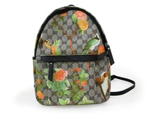 Floral Design Colorful Small Size PVC Backpack Fashion Lady Backpack Bag Shoulder Bag for Girls