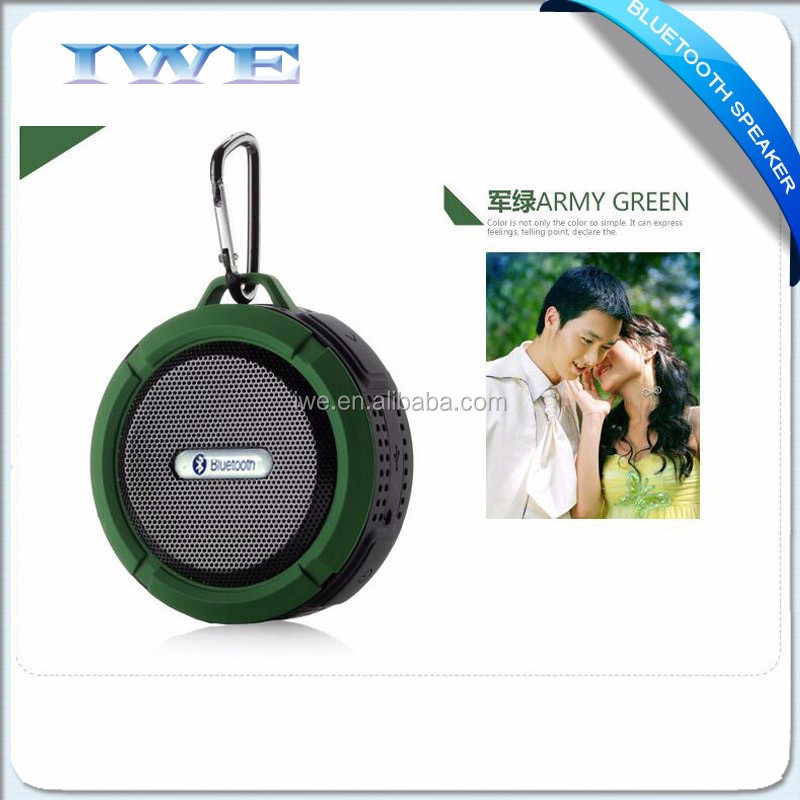 New parts 2016 smart outdoor sport portable mini speaker bluetooth wireless for shower