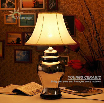 product elk ceramic cream table shipping cadence garden aged lighting home free lamp
