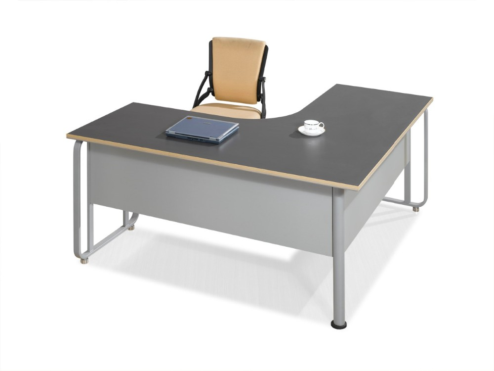 2016 modern 2 person office computer workstation - Computer desk for two people ...
