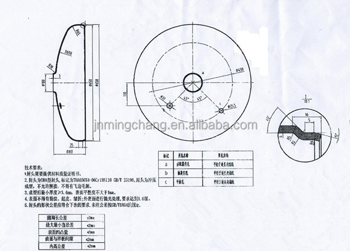 torispherical head tank volume Keywords– pressure vessel, torispherical head, stiffening-ring, finite element,  strain  welded at a suitable location on the head may reduce the volume of a.