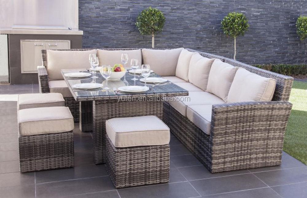 Rattan Wicker Luxury Big Lots Outdoor Furniture YF3356