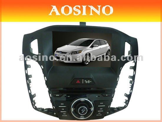 "Aosino 8"" double din special for FORD FOCUS 2012 car dvd player / car radio / car audio with GPS navigation"